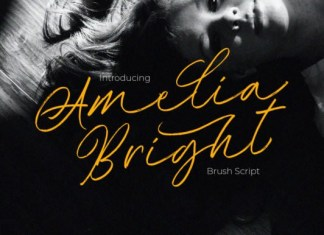 Amelia Bright Font