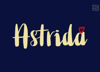 Astrida Font