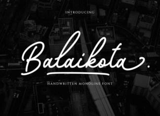 Balaikota Font
