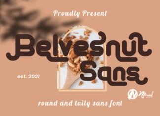 Belvesnut Sans Font