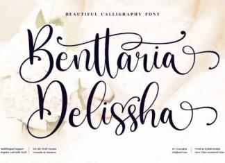 Benttaria Delissha Font