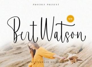 Bert Watson Font