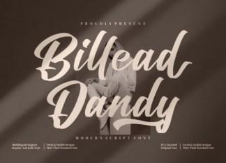 Billead Dandy Font
