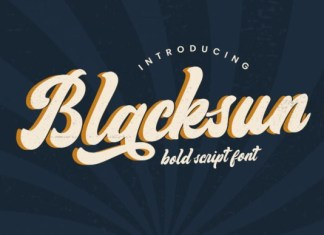 Blacksun Font
