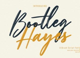 Bootleg Hayes Font