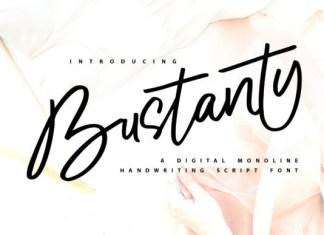 Bustanty Font