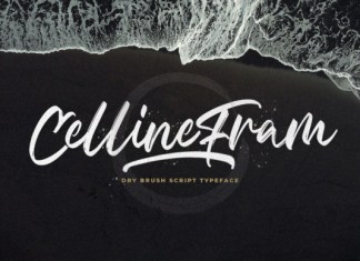 Celline Fram Font