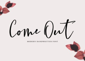 Come out Font