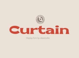 Curtain Font