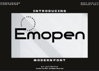 Emopen Font
