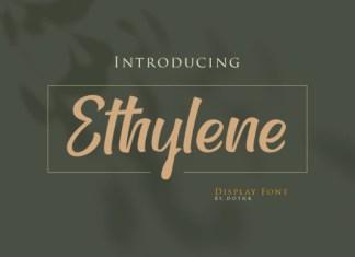Ethylene Font
