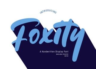 Foxity Font