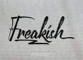 Freakish Font