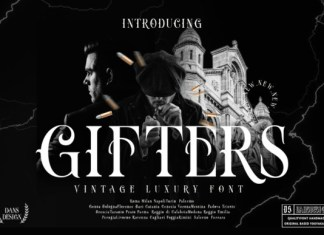 Gifters Font