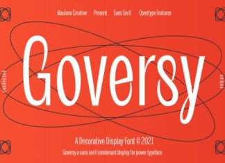 Goversy Font