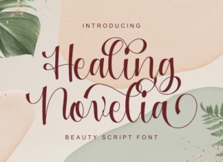 Healing Novelia Font