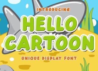 Hello Cartoon Font