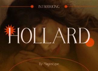 Holllard Font