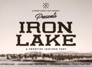 Iron Lake Font