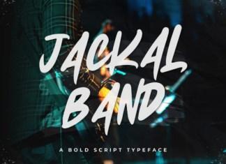 Jackal Band Font