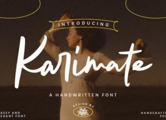 Karimate Font