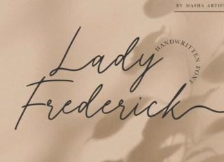 Lady Frederick Font