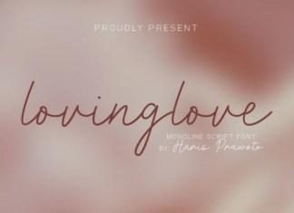 Lovinglove Font