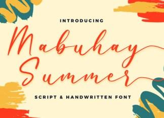 Mabuhay Summer Font