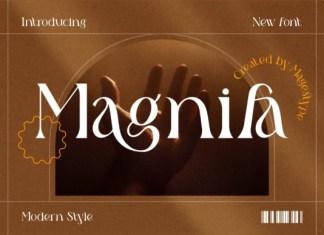 Magnifa Font