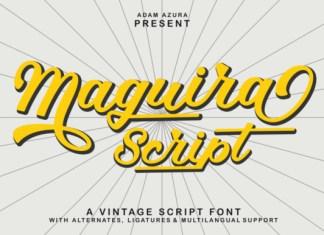 Maguira Script Font