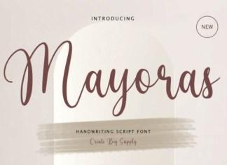 Mayoras Font