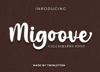 Migoove Font