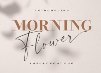 Morning Flower Font