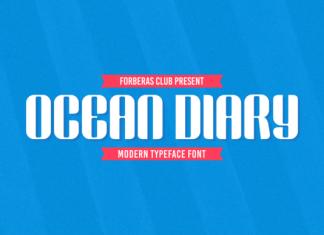Ocean Diary Font
