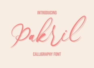 Pakril Font