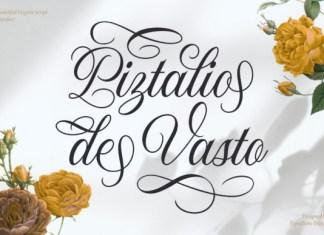 Piztalio De Vasto Font