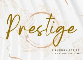 Prestige Font