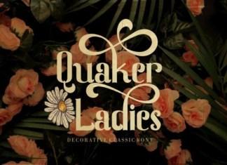 Quaker Ladies Font