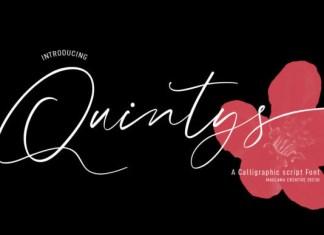 Quintys Font