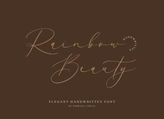 Rainbow Beauty Font