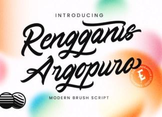 Rengganis Argopuro Font