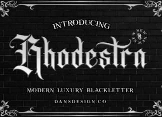 Rhodestra Font