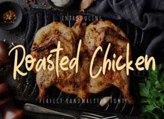 Roasted Chicken Font