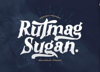 Rutmag Sugan Font