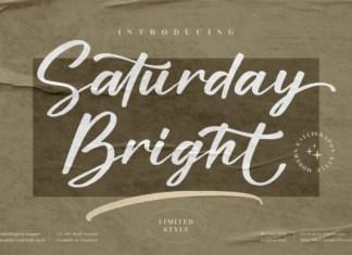 Saturday Bright Font