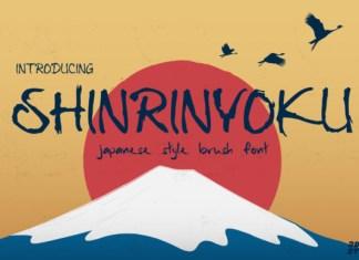 Shinrinyoku Font