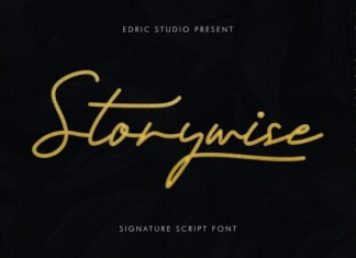Storywise Font