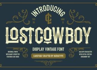 Lostcowboy Font