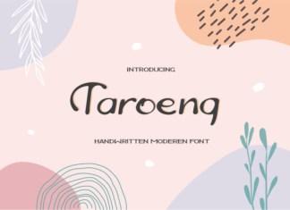 Taroeng Font