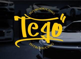 Tego Font